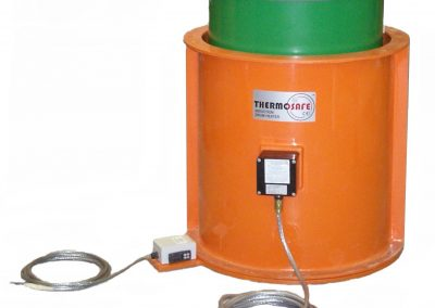 Thermosafe Induction drum heater with green drum