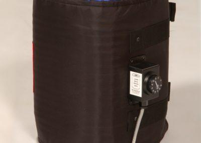 HJA drum heater jacket on a 20L drum