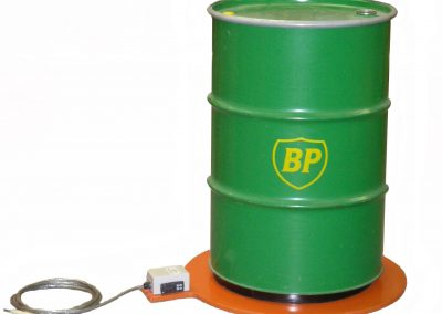 base heater with green drum