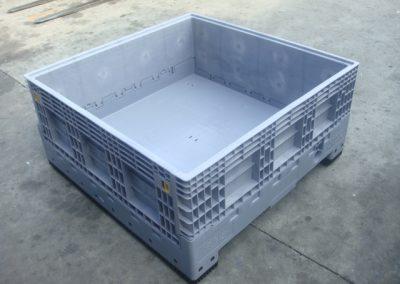 Contrak folding IBC in grey