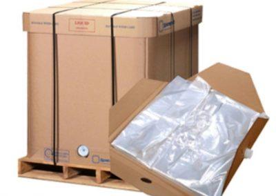 Spacekraft cardboard IBC