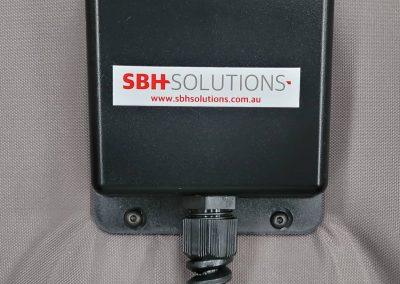 Digital thermostat on HHD Pro drum heater jacket
